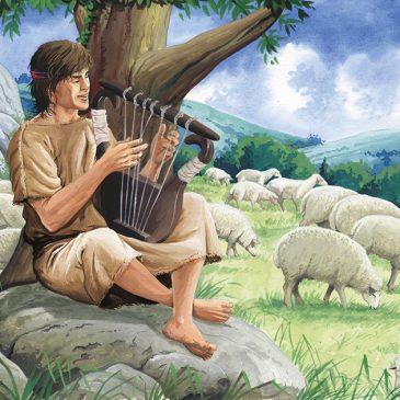 Pintura Rei Davi